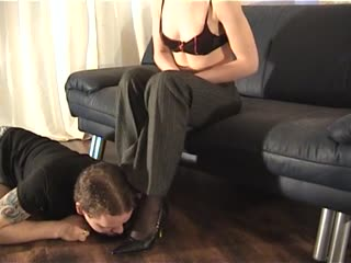 Lady Danira humiliates one sub man