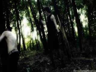 Punishment and humiliation in the forest