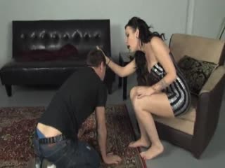 Degrading a male slave