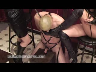 Madame Catarina mercilessly dominated a man with heels