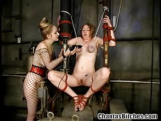 Severe BDSM bondage and fetish adventure