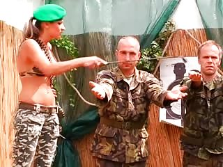 Army slaves training
