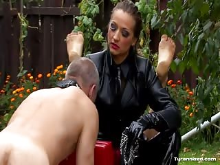 Slave training outside