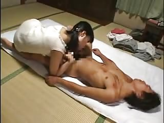 Nasty Asian dominates lover