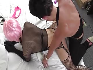 Mistress Kandy strapon fucking session
