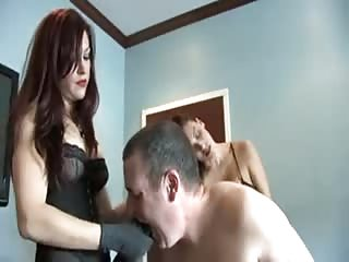 Helpless  man pegged  in the office