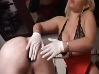Slave fuck with dominatrix