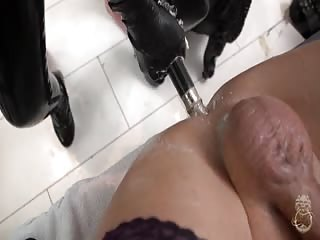 Femdom brutality in the dungeon