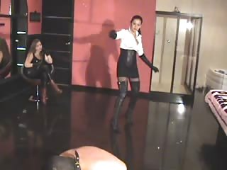 Latina mistress loves whipping