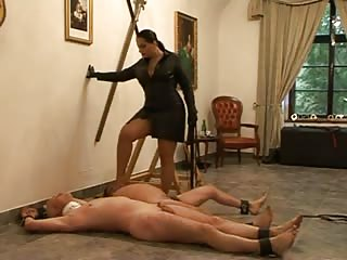 Punishment for two male slave