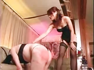 Evil Asian mistress merciless punishment