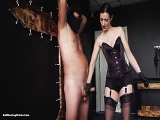 Cumming without mistress permission is worth to be punished