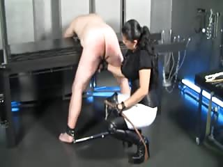 Busty domme ass punishment
