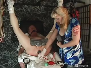 Slave's glory hole violated