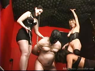Humiliated slaves in the dungeon