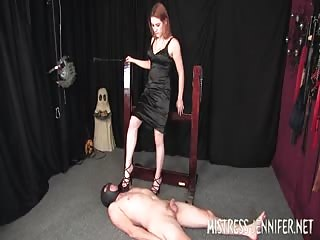 Mistress Adie trampling punishment