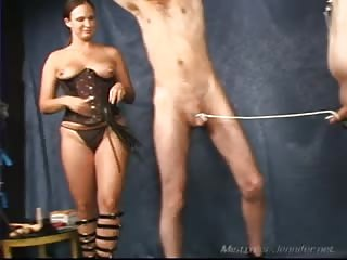 Two slaves punished together