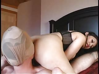 Lick my ass while your balls are busted