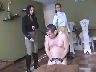 Pity slave double whipped