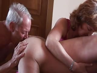 Cuckold old husband