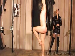Whipping punishment to a useless slave