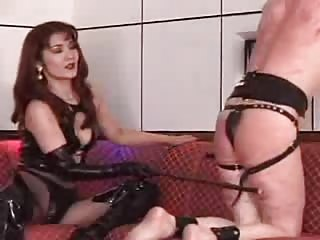 Devilish Asian whipping torture