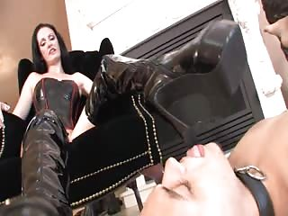 Mistress high end black boots