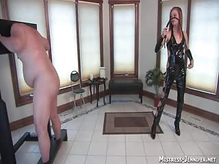 Abused and pegged by an evil mistress