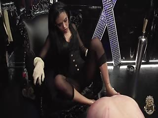 Lady Layla brutal pegging