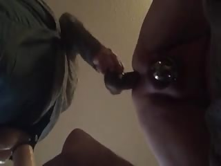 Fuck her man's anus in doggy style