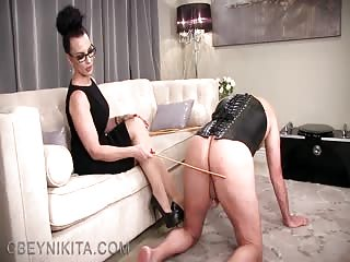 Spank sticks for slave's ass