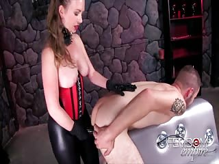Mistress T's pegging pleasure