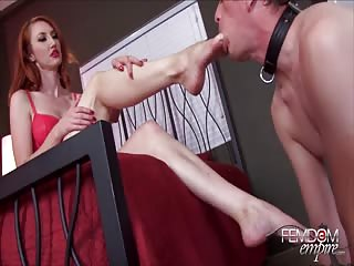 Foot worship for Kendra James