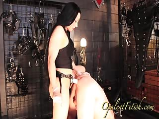Hardcore pegging by Mistress Cheyenne
