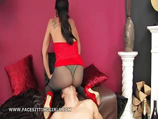 Forced ass sniffing humiliation