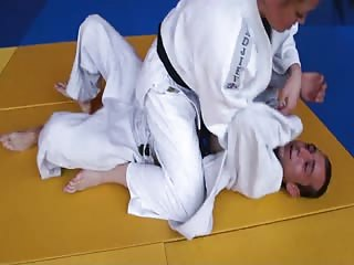 She is good in judo fight